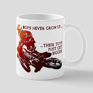 2e30a8fc Dirt Bike Motocross Off Road Motorcycle Bikes Dirt Mugs - CafePress