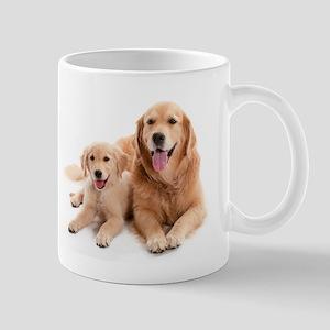 Golden Retriever Puppies Mugs - CafePress
