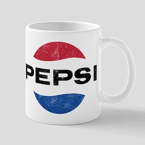 1544fdc7 Pepsi Vintage Logo 11 oz Ceramic Mug