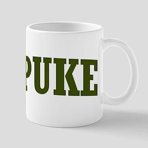 Puke College Mess Scab Fake Funny Joke Name Gifts - CafePress
