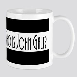 Who Is John Galt? Large Mugs