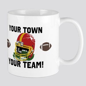 Helmet Red and Gold Mug