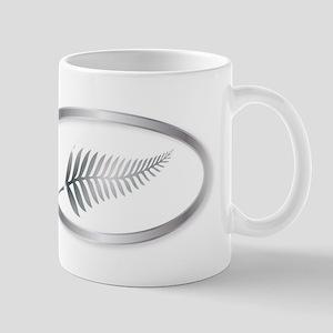 b85d9429fb3 New Zealand Silver Fern Oval Button Mugs