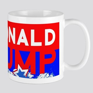 donald rump red Mugs