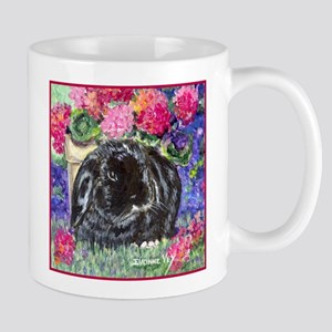 Black Lop Rabbit Mug