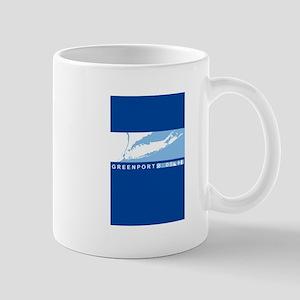 Port Jefferson - Long Island. Mug Mugs