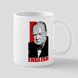English Churchill Mug