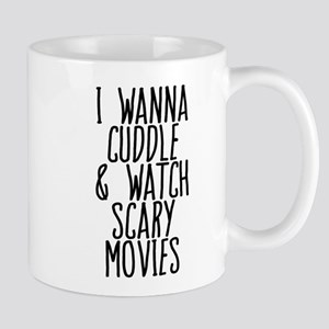 Cuddle and Watch a Movie Mugs