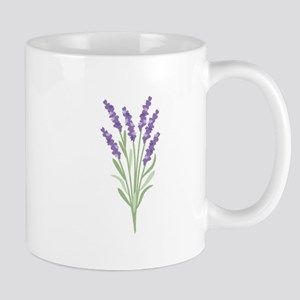 Lavender Flower Mugs