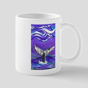 Whale Tail journal Mugs