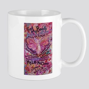 Pink Cancer Angel Mug