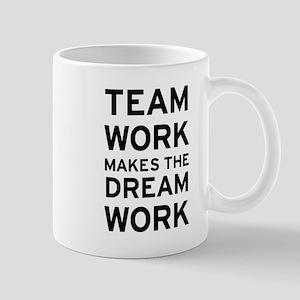 Team Work 11 oz Ceramic Mug