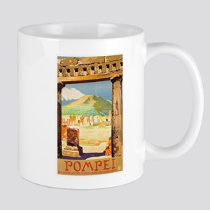 Pompei Italy ~ Vintage Travel Mug