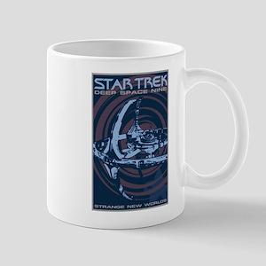 Retro Star Trek: DS9 Poster Mug