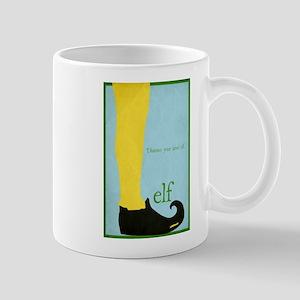 Elf Minimalist Poster Design Mug