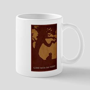 Gone with the Wind Minimalist Poster Design Mug