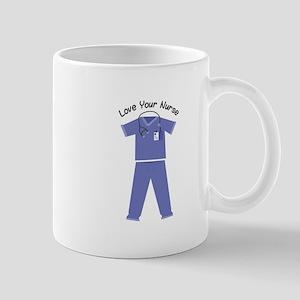 Love Your Nurse Mugs