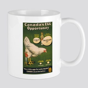 CANADIAN EGG coffee cup