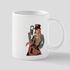 Steampunk Anime Girl Mug