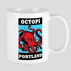 Octopi Portland Mug