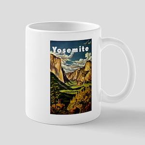 Vintage Yosemite Travel Mug