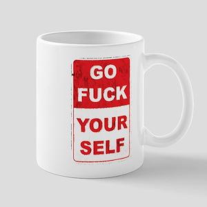 fuckyourselfgrunge copy Mugs