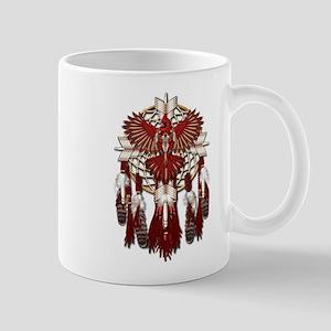 Native Cardinal Mandala Mug
