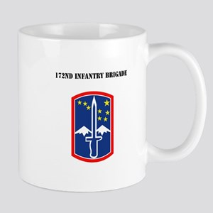 SSI - 172nd Infantry Brigade with Text Mug