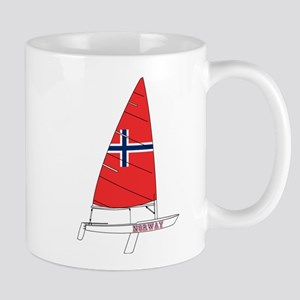 Norway Dinghy Sailing Mug