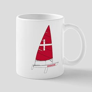 Denmark Dinghy Sailing Mug