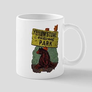 Vintage Yellowstone Mug
