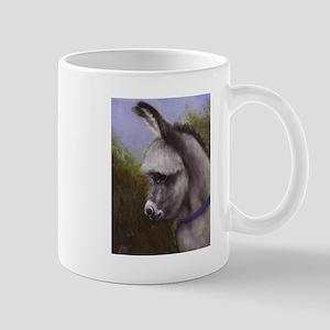 Mini Donkey Painting Horse Lover Art Coffee Mug