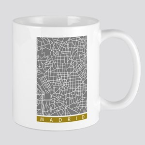 Madrid map Mugs