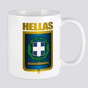 """Hellas"" (Greece) Mug"