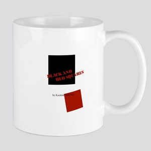 Black And Red Squares by Kazimir Malevich Mug