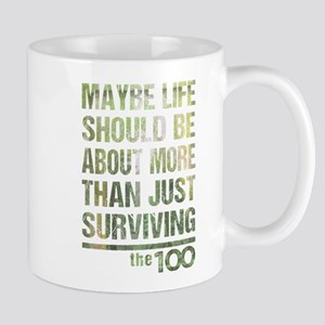 The 100 More Than Just Surviving Mugs