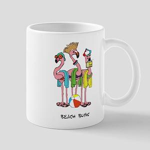 Flamingo Beach Bums Travel Mugs