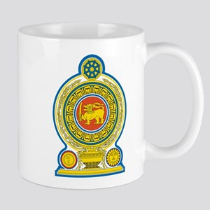 Sri Lanka Coat Of Arms Mug