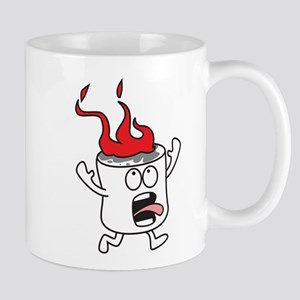 Flaming Marshmallow Mug