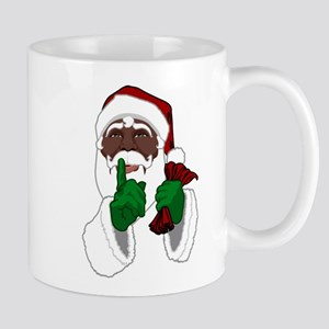 African Santa Clause Mugs