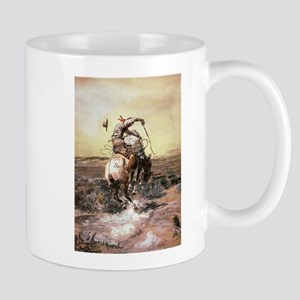 cowboy art Mugs