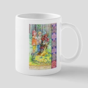 Hansel and Gretel art Mugs