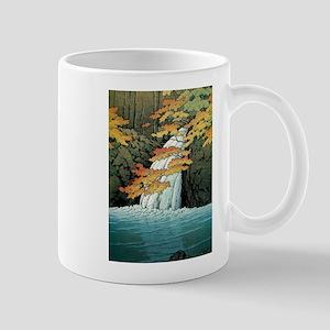 Senju Waterfall, Akame - Kawase Hasui Mugs
