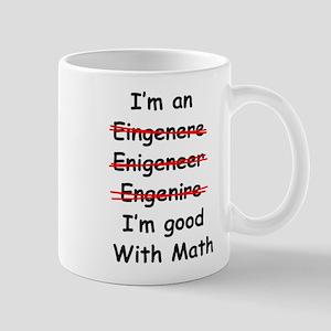 Im good with math Mugs