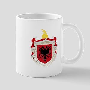Albanian Kingdom Coat of Arms Mug