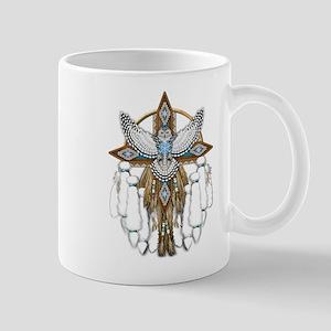Snowy Owl Mandala Mugs