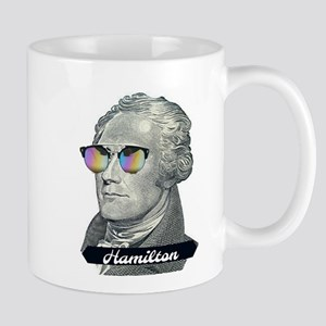 Hamilton with Shades Mugs