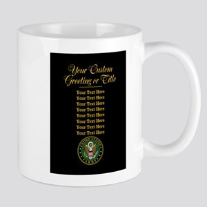 CUSTOM TEXT U.S. Army Mugs