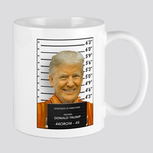 Trump Mugshot Photo Moron 45 Mugs