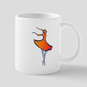 Modern Dancing Mug